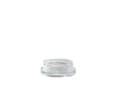 Plastový kelímek kulatý 3ml, transparent S03