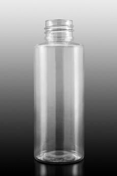 Plastová lahvička PET  - LILI 100ml čirá  24/410